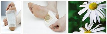 Korean Sap Detox Foot Patches use at night and see difference in the morning.