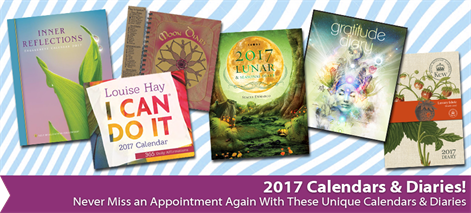 Spiritual, Metaphysical and New Age Calendars and Diaries for 2017 | The Holistic Shop in Wagga Wagga