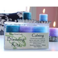 Blessed Herbals (Blessing Kits) and Votive Candles by Coventry Creations