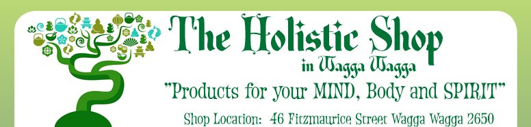 "The Holistic Shop - ""Products for your MIND, Body and SPIRIT"""